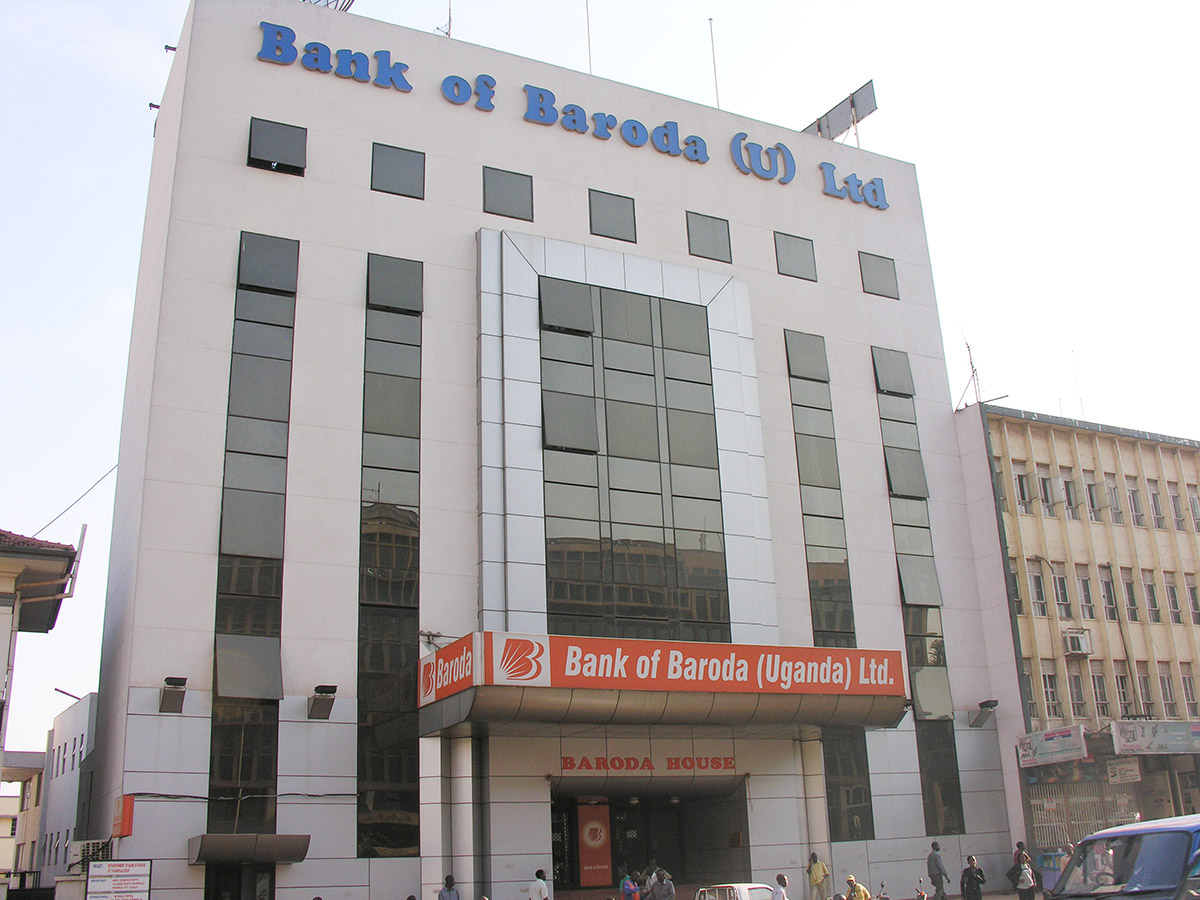 bank of baroda uganda address